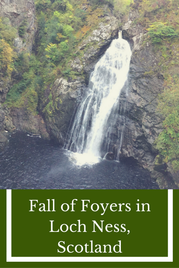 Foyer House Loch Ness : Falls of foyers in loch ness samh travels